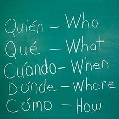 Podstawowe pytania po hiszpańsku