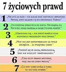 7 życiowych prawd :D