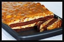 Karmelowe brownie z orzeszk...