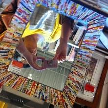 wiklina papierowa lustro nr1 dla Maargolci
