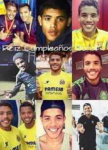25 urodziny obchodzi dzisiaj Jonathan Dos Santos wychowanek Barcy, i obecny g...