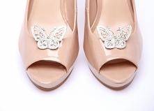 Klipsy do butów Butterfly  Do kupienia w sklepie internetowym Madame Allure :) >>> link w komentarzu <<<