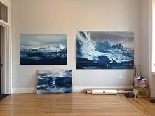 """obraz po prawej """"Grendlandia"""" Zari Forman sprzedany został za 19.500$"""