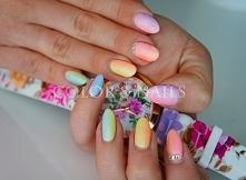 ombre colors & nails