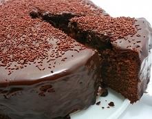 Składniki  3 tabliczki ciemnej czekolady pół kostki masła pół szklanki cukru ...