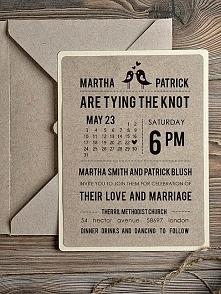 zaproszenie ślubne :)