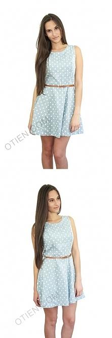 Śliczna sukienka na lato dostępna w sklepie OTIEN kategoria -> ODZIEŻ