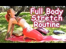 POLECAM!  20 Minute Full Body Stretching Routine for Flexibility & Pa...