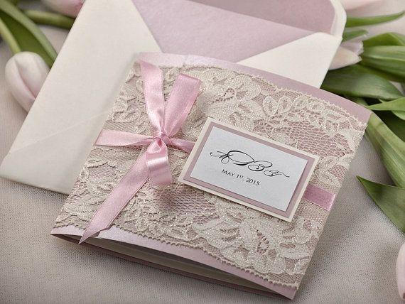 Zaproszenia ślubne Z Koronką Na Zaproszenia ślubne Zszywkapl