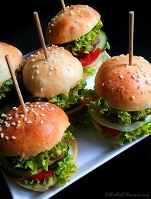 Mini Hamburgery - przepis po kliknięciu w zdjęcie