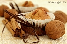 Muffinki z orzechami i cyna...