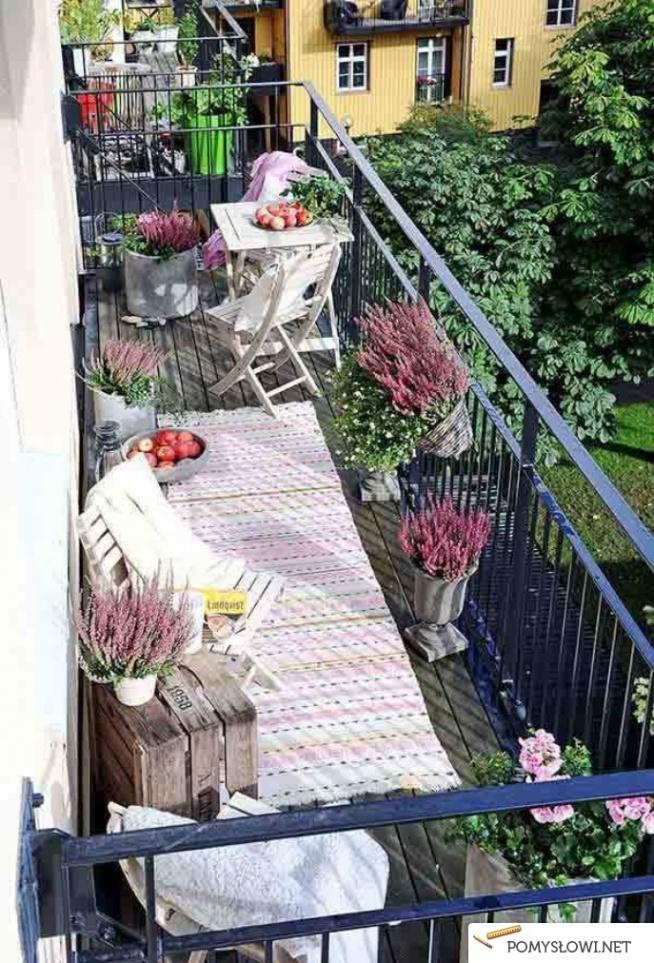 Balcony rug zabliving.