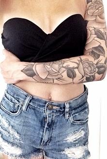 Jak tatuaże to w którym miejscu ciała? :) Mi odpowiadają na całym ramieniu, nadgarstku, stopie czy też na plecach :)