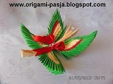 Motyl origami modułowe.