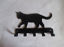 Wieszaczek na klucze z kote...