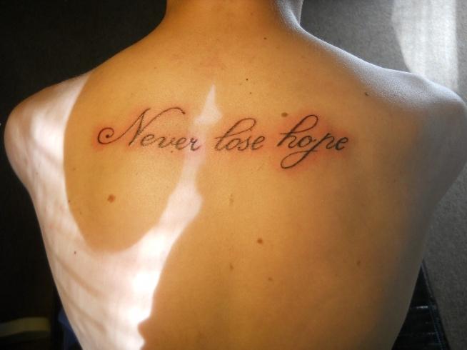 Nowy Napis Tatuaż Na Inne Zszywkapl