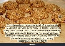 Dietetyczne ciastka owsiane