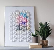 ••Origami Wall Display