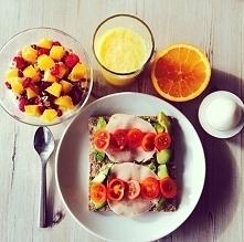 Zdrowe i pyszne śniadanie :)