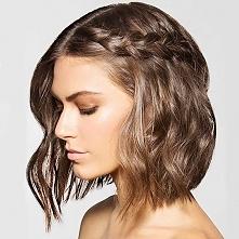 WARKOCZE ze średnich włosów, zobacz jak zrobić fryzury z warkoczem>>