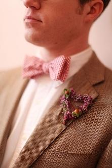 Kolorowe muchy ślubne