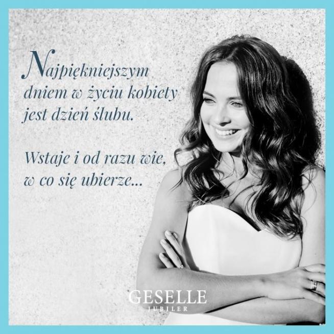 Serdecznie zapraszamy do GESELLE Jubiler!  Poznań, ul. Szewska 15. Wrocław, ul. Kołłątaja 21.  GESELLE.pl  Do zobaczenia!