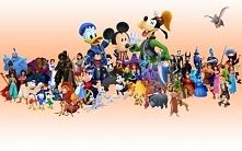 Kocham bajki Disneya ♥