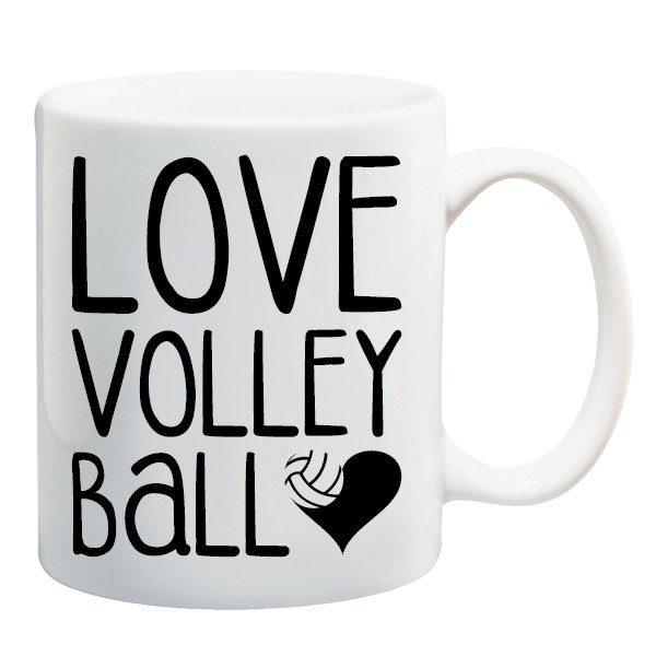 Kubek LOVE VOLLEYBALL littlethings.pl