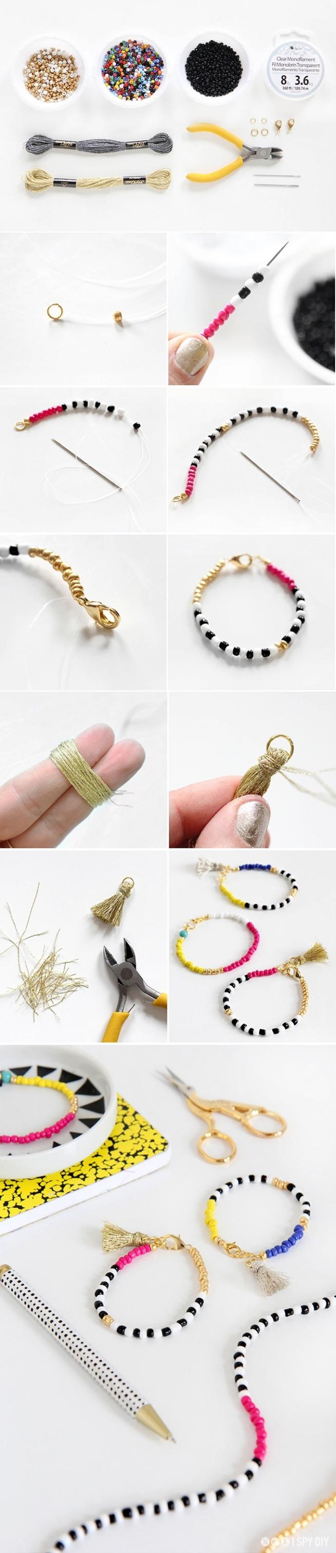 ••Beaded Tassel Jewelry