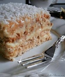 """Kokosowe Ciasto """"Rafaello"""" Bez Pieczenia - przepis po kliknieciu w zdjecie"""