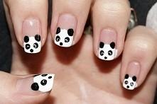 Paznokcie pandy ;)