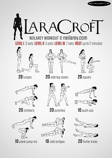 Lara Croft Workout !