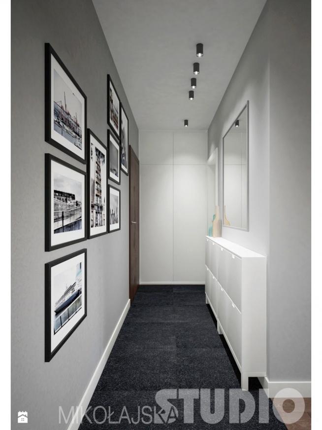 pomysł na urządzenie wąskiego korytarza :)