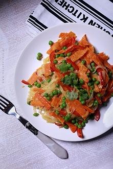 Bezglutenowe danie, świetne dla wegetarian, bo bez mięska, ale pełnowartościo...