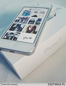 #white #iphone #5
