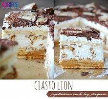 Ciasto Lion♥♥♥ Pyszne ciasto bez pieczenia...Szybko i Pysznie!!! Składniki na...