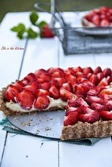 """tarta z kaszą jaglaną - pyszna, super łatwa, zdrowa! przepis z bloga """"Ola in the kitchen"""""""
