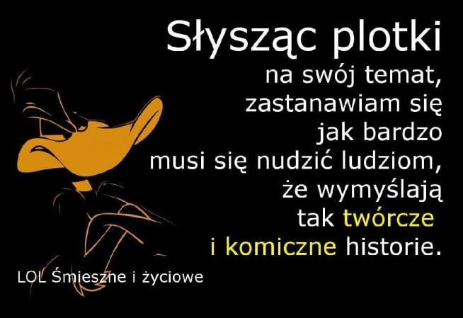 Plotki Na Cytatysentencjewierszyki Zszywkapl