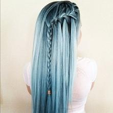 hair style #bule #hair