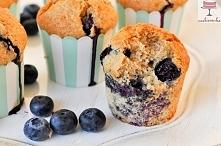 Muffiny z borówkami  Przepi...