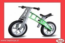 Dzięki rowerkowi biegowemu smyk szybciej opanuje zdolność utrzymywania równow...