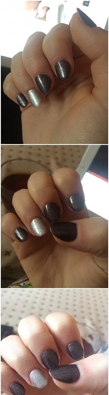 #paznokcie na bal gimnazjalny. co sądzicie o kolorze?