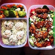 obiad i kolacja :) zdrowe p...