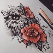 ♥ jaki boooooski jest ten tatuaż ♥ Prawda, kochani? ♥  Czy jest ktoś, kto potrafiłby to narysować tak perfekcyjnie jak na zdjęciu?
