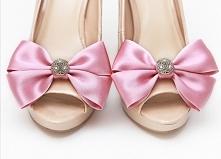 Klipsy do butów Glowing Bride - Pink - idealne na ślub!  Dostępne w sklepie internetowym Madame Allure :)   >>> link w komentarzu! <<<