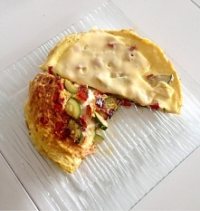 Omletos a la pizza