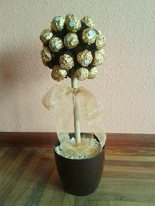 takiego oto kwiatka zrobiłam dla Mamy ^^ yup, 5 sposobów na... :p