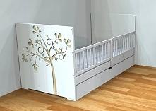Projekt nowego łóżeczka.