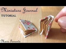 Miniature Romantic Journals/Notepads Tutorial