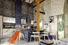 Wnętrze Bernikli - projektu domu jednorodzinnego